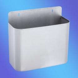 PAPELERA  MURAL INOX 325x130x295 mm