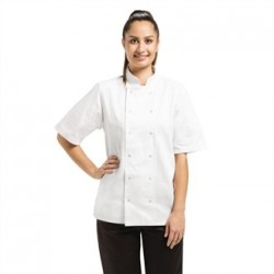 Chaqueta de cocina Vegas manga corta blanca  Talla XS