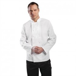 Chaqueta de cocina Vegas manga larga blanca Talla XS