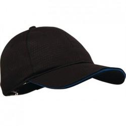 Gorra Cool Vent con borde coloreado Azul Talla Única