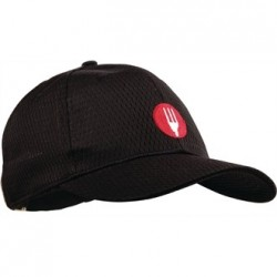 Gorra de béisbol Cool Vent Negra Talla Única