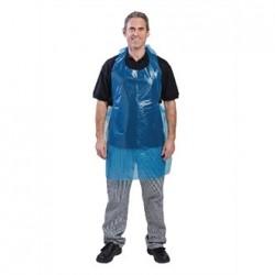 Delantal desechable (100 unidades) azul