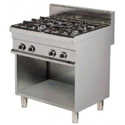 Cocina a gas 4 - 6(Kw) 800x700x900 mm Arisco