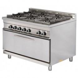 Cocina a gas 6 - 8(Kw) 1275x900x900 mm Arisco
