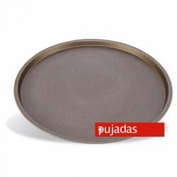 Molde hondo pizza antiadherente 32 cm de diámetro