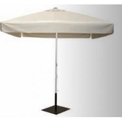 Parasol poliéster con chimenea y faldón (3x3mts)