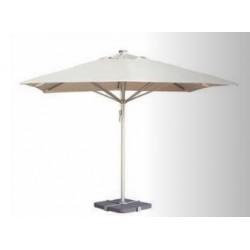 Parasol poliéster con chimenea y SIN faldón ( 4 x 4 mts)