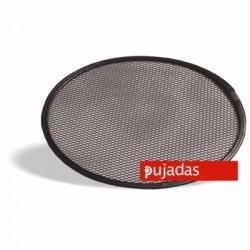 Base rejilla aluminio antiadherente para pizza 25.5 cm de diámetro