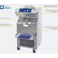 Mantecadora refrigeración mixtacBFE201 AW