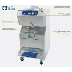 Mantecadora refrigeracion mixta BFE600 AW