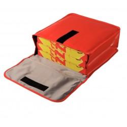 Bolsas isotérmicas en vinilo para reparto de pizzas