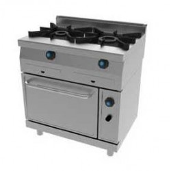 Cocina a GAS 2 Fuegos con Horno 625 Jemi
