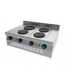 Cocina Eléctrica 4 Placas S614E Jemi
