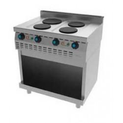 Cocina Eléctrica 4 Placas T614E Jemi
