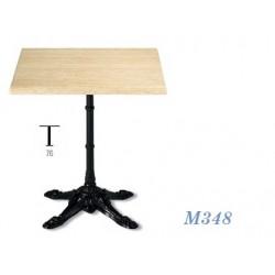 Mesa M348 70Ø Mármol