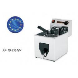 Freidora Eléctrica Trifásica 8L Sobremostrador FF-10-TR-NV