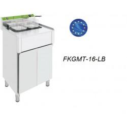 Freidora Eléctrica Trifásica 16 Litros FKGMT-16-LB con Mueble