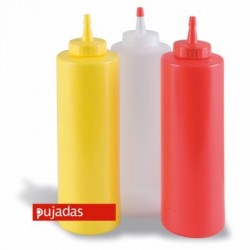 Dispensador a presión 720 ml rojo