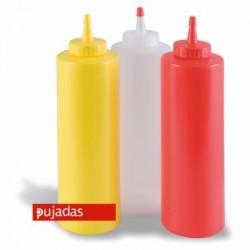 Dispensador a presión 360 ml amarillo