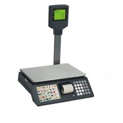 Balanza Mostrador con Impresora CV-4-IM con VISOR Serie COMPLET