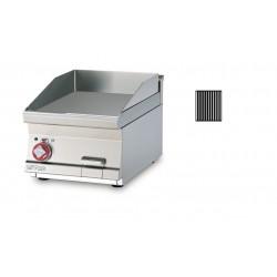 Plancha Fry-Top de Acero Inox. Ranurado, Sobremesa Eléctrica de 400x600x280 mm LOTUS