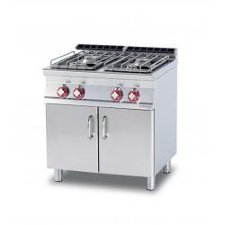 Cocina Sobre de Cocción GAS 4 Quemadores SERIE 70 LOTUS