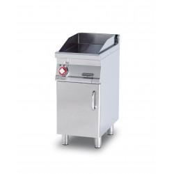 Plancha Fry-Top Acero Inox. con Mueble Eléctrica de 400x705x900 mm LOTUS