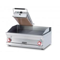 Plancha Fry-Top para SÁNDWICHES de Acero Inox., Sobremesa Eléctrica de 320x620x410 mm LOTUS