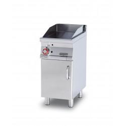Plancha Fry-Top Cromo Duro con Mueble a Gas de 400x705x900 mm LOTUS