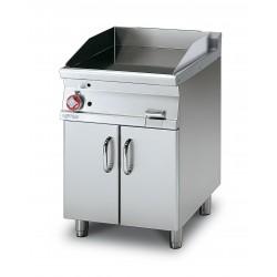 Plancha Fry-Top Acero Inox. con Mueble a Gas de 600x705x900 mm LOTUS