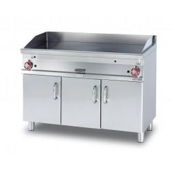 Plancha Fry-Top Acero Inox. con Mueble a Gas de 1200x705x900 mm LOTUS