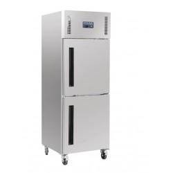 Armario frigorífico Polar GN una puerta doble 600L