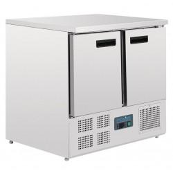 Refrigerador mostrador compacto 2 puertas Polar 240L