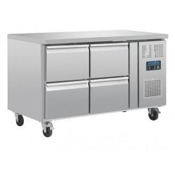 Mostrador frigorífico Polar GN 4 cajones