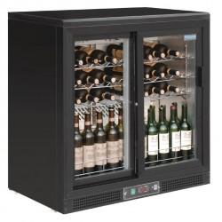 Cava de vinos con puertas deslizantes Polar 56 botellas