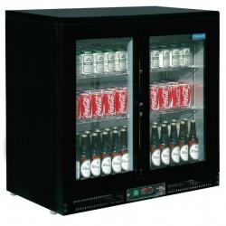Vitrina Botellera con puertas deslizantes Polar 168 botellas