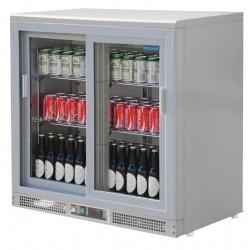 Vitrina Botellera con puertas deslizantes Polar 180 botellas