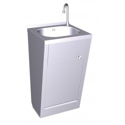 Lavamanos registrable de rodilla agua fría y caliente FRICOSMOS