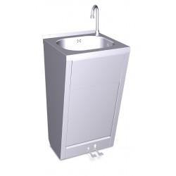 Lavamanos registrable con doble pedal agua fría y caliente FRICOSMOS