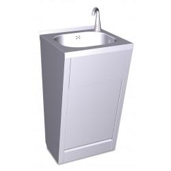 Lavamanos registrable electrónico a pilas agua fría y caliente FRICOSMOS