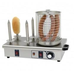 Máquina para perritos calientes 4 Pinchos BUFFALO