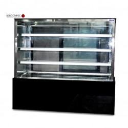 Vitrina Expositora Refrigerada para Pastelería (1200x1400x690 mm) ESTZ-1214