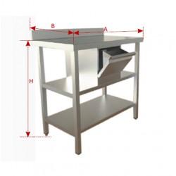 Mueble Cafetero Económico 2 ESTANTES 2000x600x1050