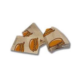 Bolsa para hamburguesa