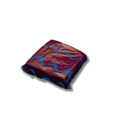 Servilleta para comedor de colores 40x40 cm burdeos