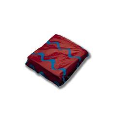 Servilleta para comedor de colores 40x40 cm rojo
