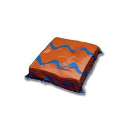 Servilleta para comedor de colores 40x40 cm naranja