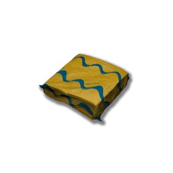 Servilleta para comedor de colores 40x40 cm amarilla