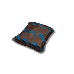 Servilleta para comedor de colores 40x40 cm marrón chocolate