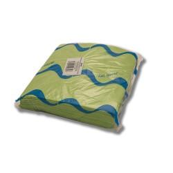 Servilleta para comedor de colores 40x40 cm verde pistacho